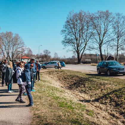Māla karjers Liepā, Līču-Laņģu klintis un Maizes māja. 2019. gada pavasaris.